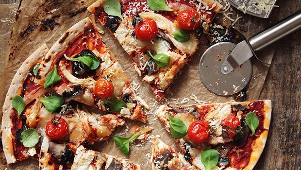 Pizza & Wein