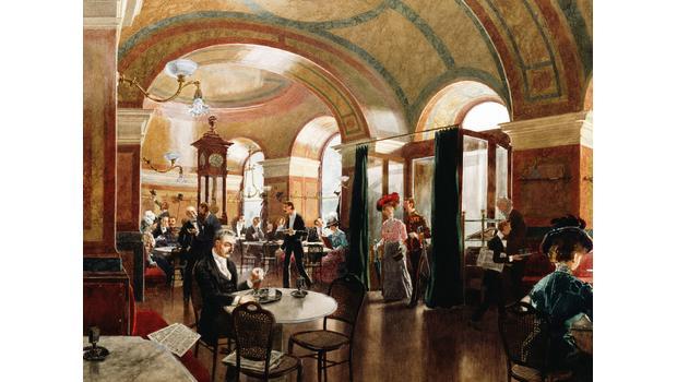 Im Wiener Kaffeehaus