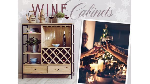 Stilvoller Wein-Storage