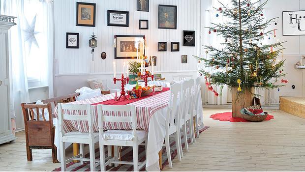 Winterzauber im Schwedenhaus