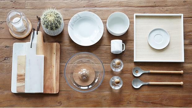 Küchen-Trend: Marmor ♥ Holz