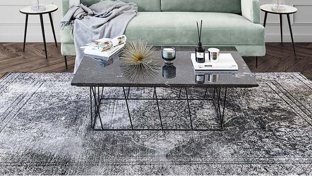 Wohn-Trend: XL-Teppiche