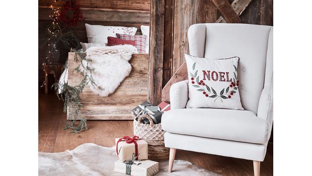 Weihnachtliche Textilien