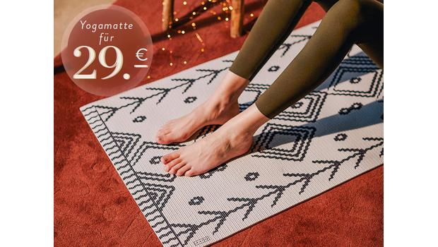 Yogamatten in Statement-Looks