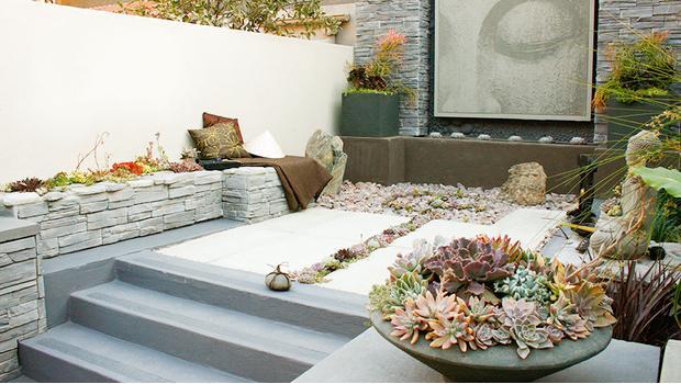 Zen-Garten-Flair
