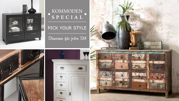 Kommoden, Konsolen & Co.