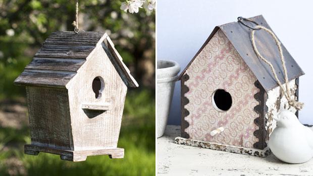 Vogelhäuser & Futterstationen