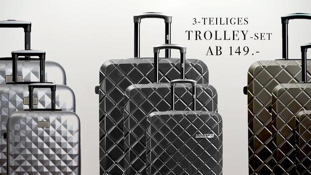 Trolleys von XL bis Handgepäck