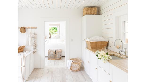 Stilvoller Wasch-Salon