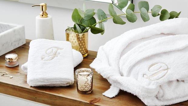 Monogram-Style fürs Bad