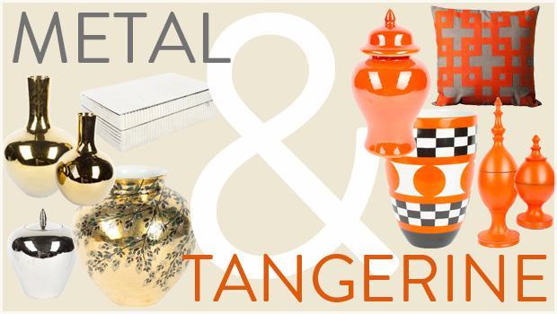 Metal & Tangerine