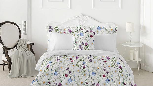 Ropa de cama romántica