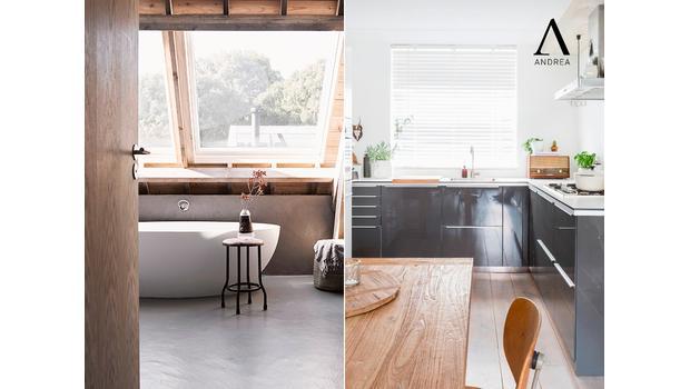 Andrea House Cocina y Baño