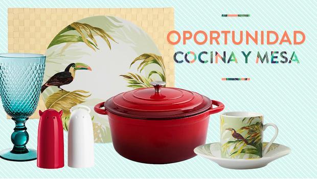 Oportunidad cocina y mesa