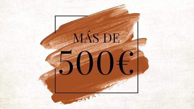 Más de 500€