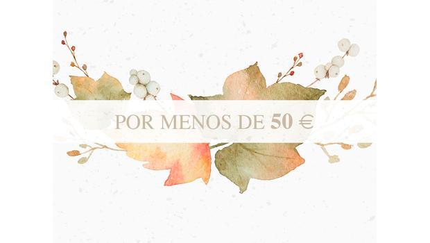 Menos de 50€