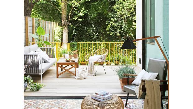 Vivir El Exterior Ideas Para Porches Jardines Y Terrazas