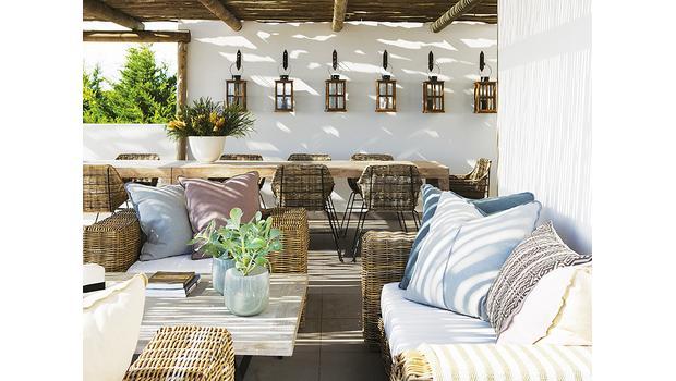 El porche ideal
