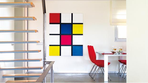 Inspiración Mondrian