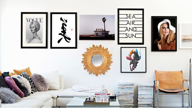 Ideas para decorar las paredes