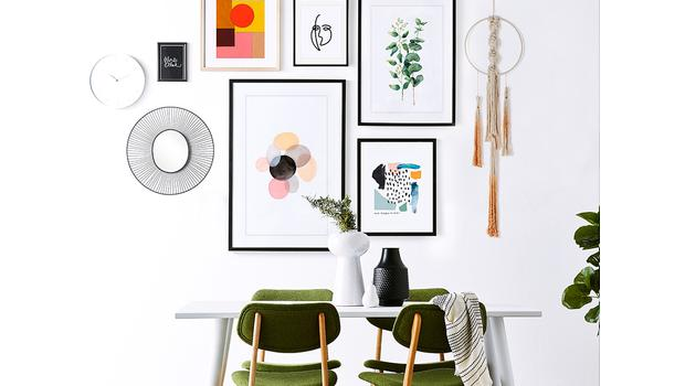 Decorar la pared está de moda