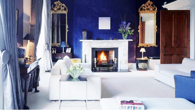 Glamour azul