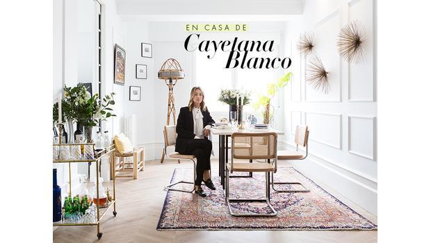 En casa de Cayetana Blanco
