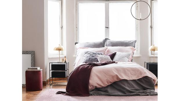 Dormitorio glamuroso