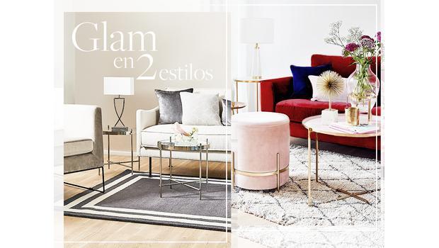 Look glam: dos estilos