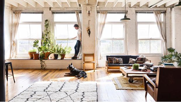 Ideas para aligerar un loft