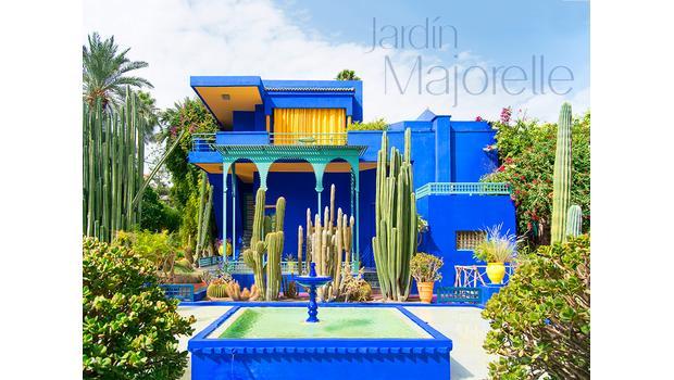 Jardin Majorelle El Paraiso Azul De Marruecos Westwing