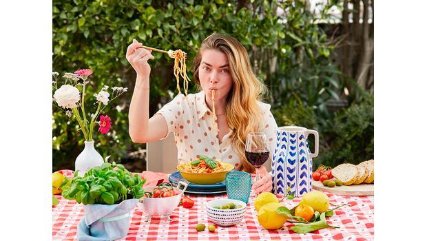 Vajillas de verano italianas