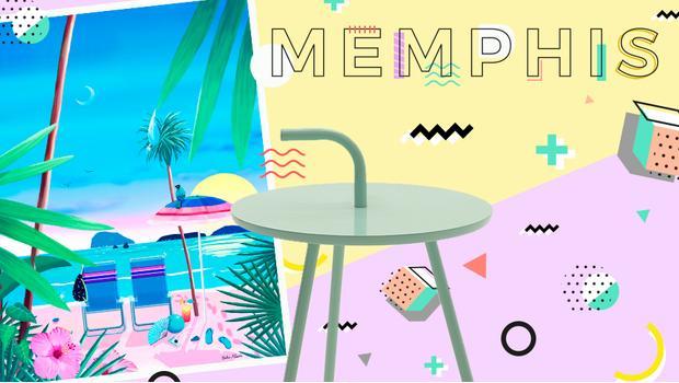 Inspiración Memphis