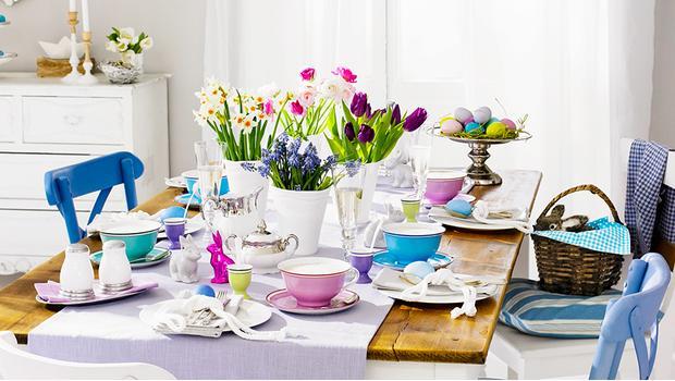 Colores en la mesa