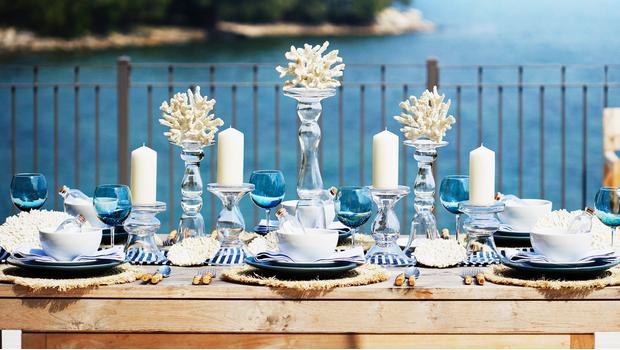 Una mesa con sabor a mar