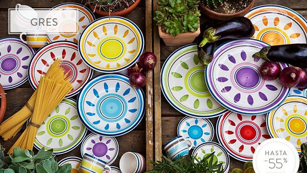 Mesas con color