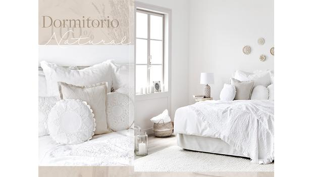Un dormitorio 100% natural