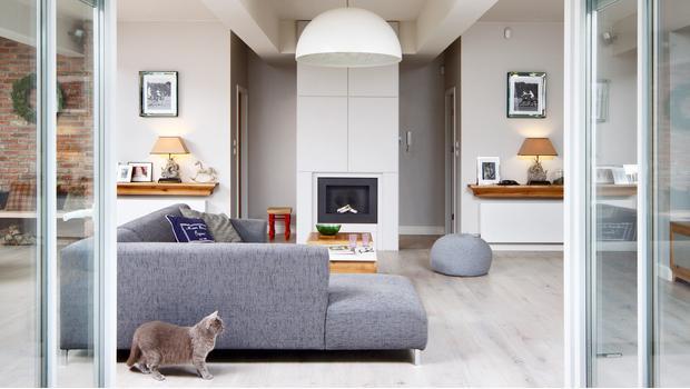Una casa cómoda y práctica