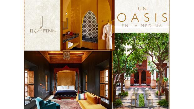 Oasis de diseño en la Medina