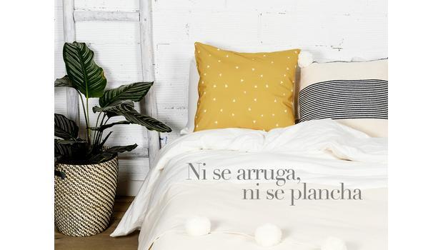 Ropa de cama bonita y práctica