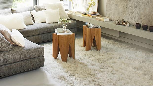 100 alfombras de pelo largo