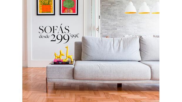 Sofás desde 299,99€
