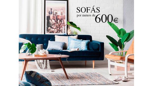 Sofás WOW por menos de 600€