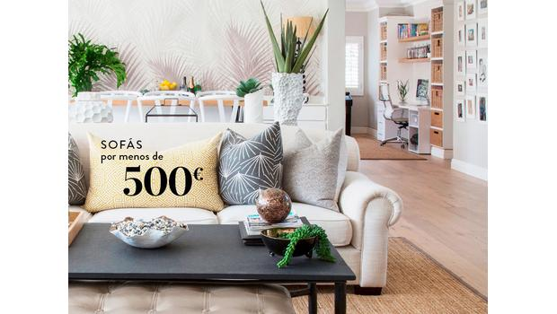Sofás por menos de 500€