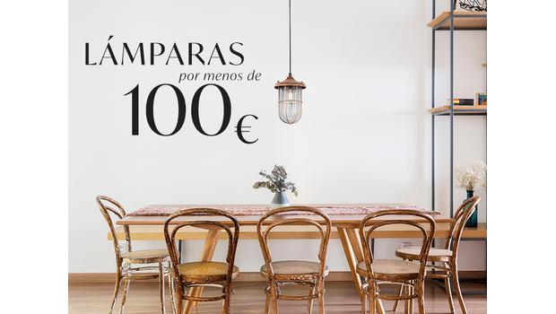 Lámparas por menos de 100€