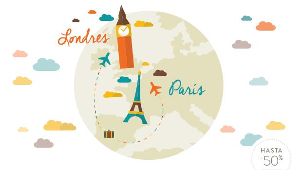 Tú a París y yo a Londres