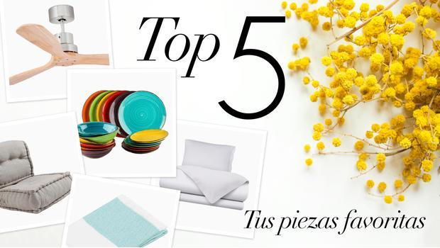 Top 5 de la primavera