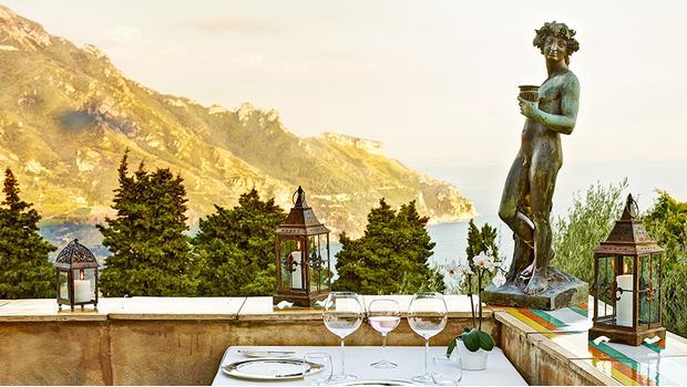 Una villa en Amalfi