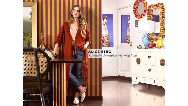 Dans l'univers d'Alice Etro