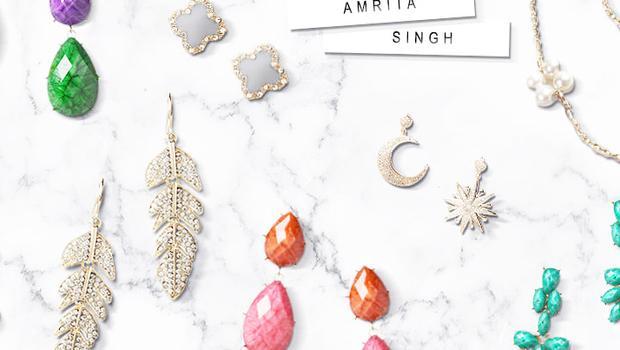 Bijoux Amrita Singh